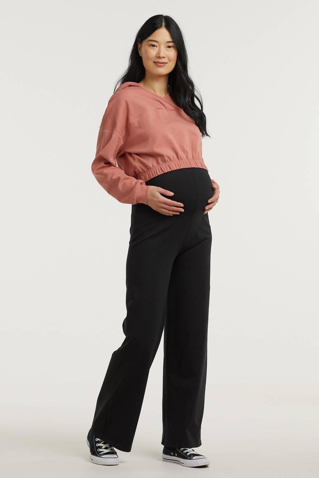 PIECES Maternity sweater PCMLINSA oudroze, Oudroze