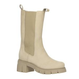 Simma  hoge nubuck chelsea boots beige