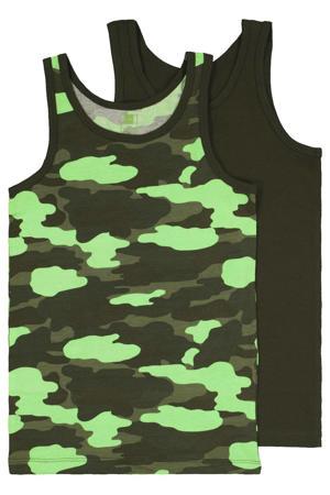 hemd - set van 2 camouflage groen