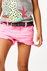 HEMA slim fit short roze, Roze