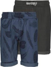 HEMA sweatshort - set van 2 blauw, Blauw