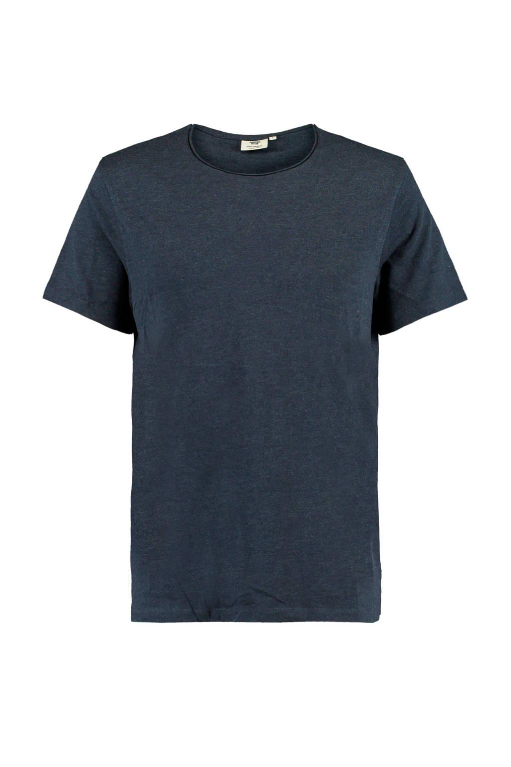 America Today T-shirt Took van biologisch katoen donkerblauw, Donkerblauw
