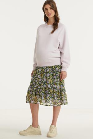 zwangerschapssweater Lillie lichtroze