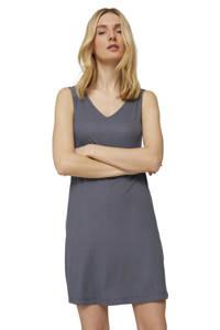 Tom Tailor A-lijn jurk met all over print blauw, Blauw