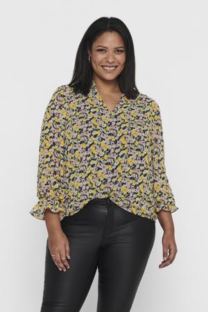 blouse CARMONI met all over print ecru