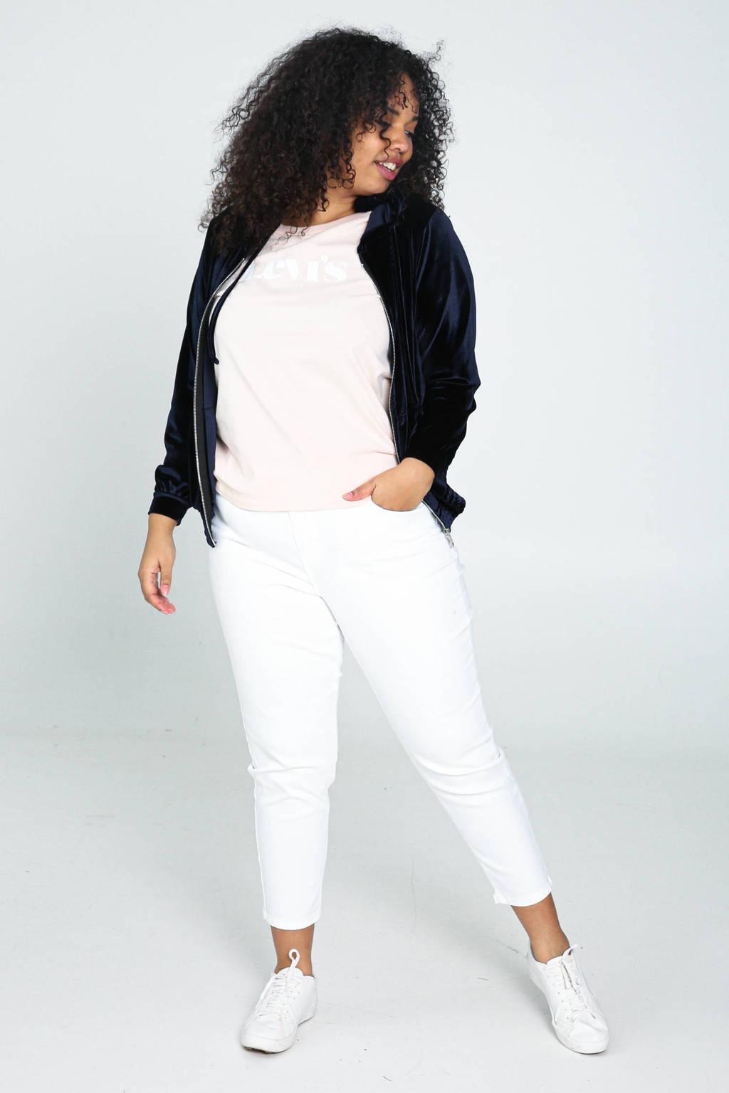 Paprika cropped skinny jeans wit, Wit