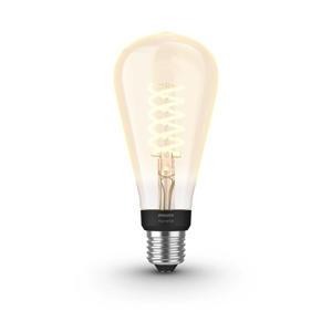 White Filament Edison ST72 Bluetooth lichtbron (E27 7W)