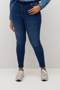 Violeta by Mango high waist super skinny jeans dark denim, Dark denim