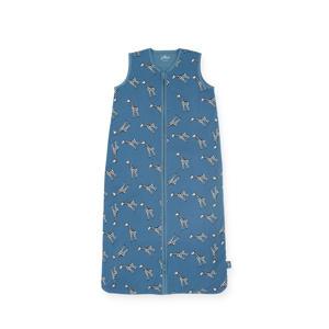 hydrofiele slaapzak zomer Giraffe jeans blue