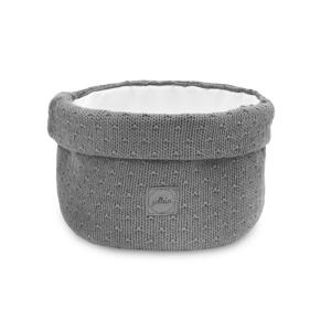 mandje Bliss knit storm grey