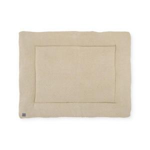boxkleed Bliss knit 75x95cm nougat/coral fleece