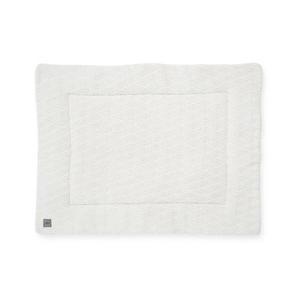 boxkleed River knit 75x95 cm cream white