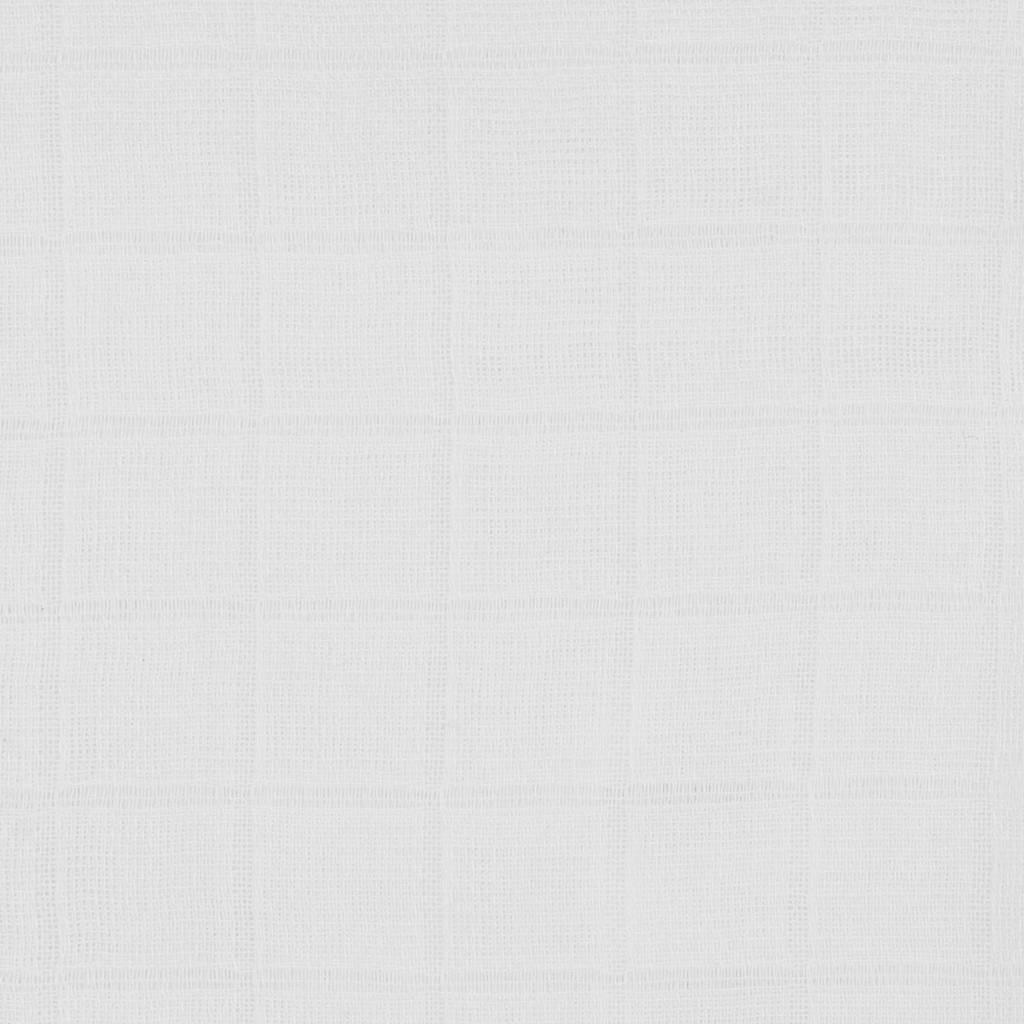 Jollein bamboe multidoek small - set van 4 70x70 cm wit, Wit