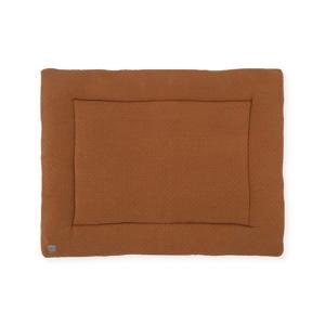boxkleed Bliss knit 75x95cm caramel/fleece