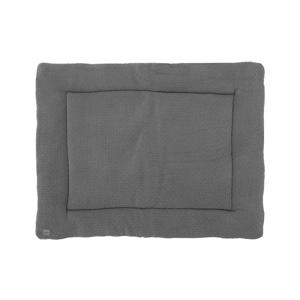 boxkleed Bliss knit 75x95cm storm grey/fleece