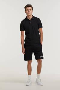GAP regular fit short met logo zwart, Zwart