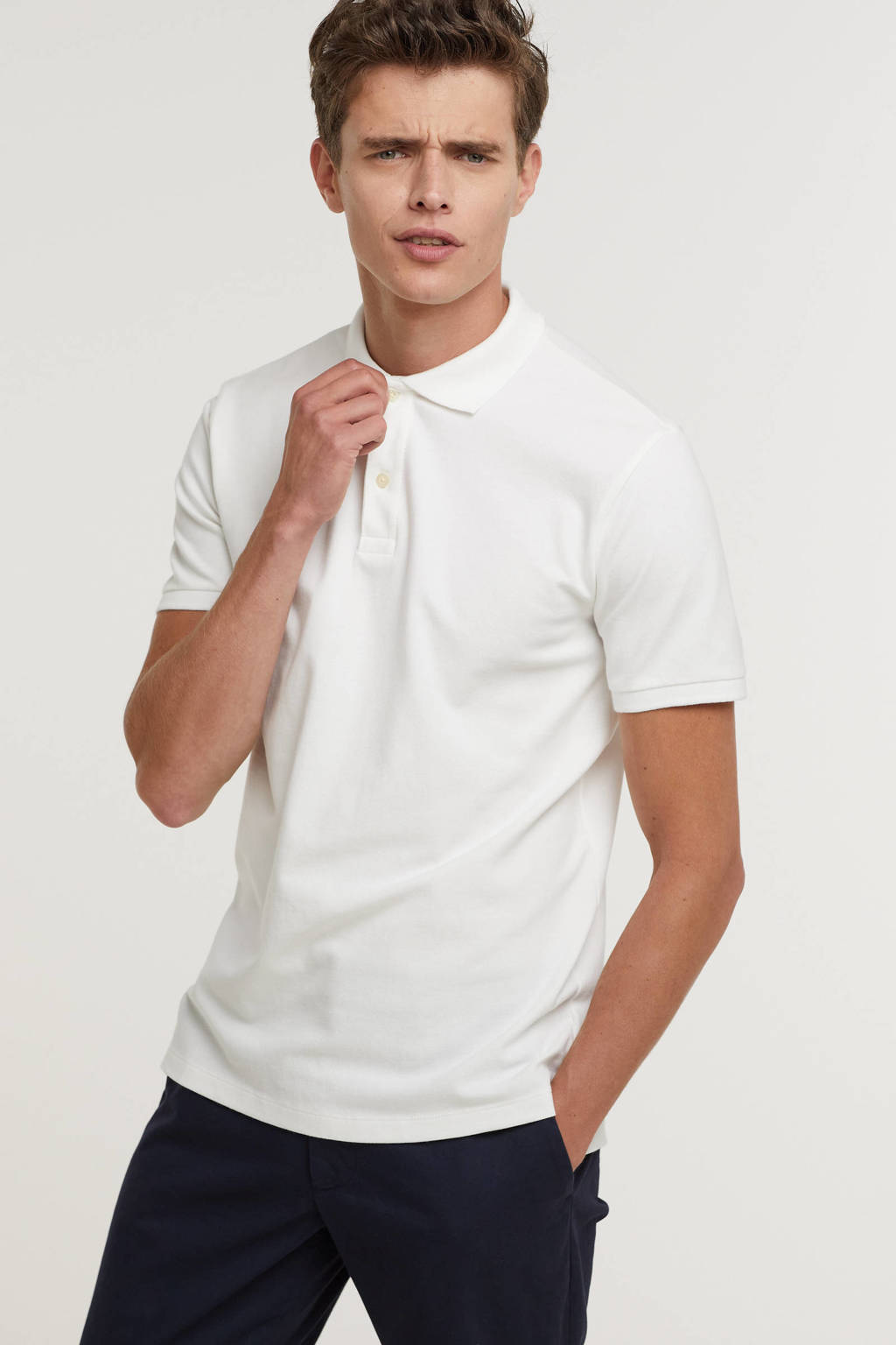 GAP regular fit polo wit, Wit