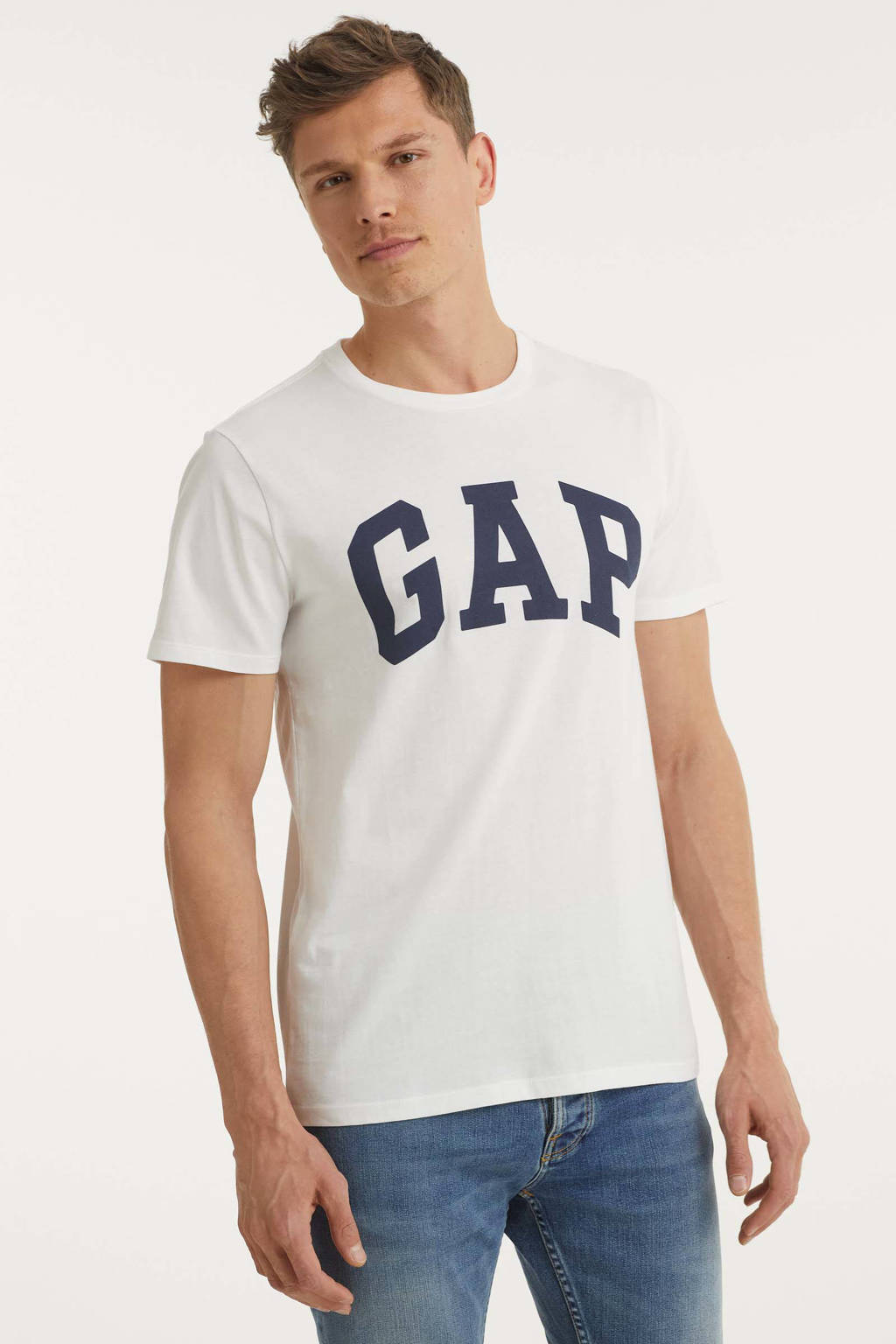 GAP T-shirt (set van 2 ) donkerblauw/wit, Donkerblauw/wit