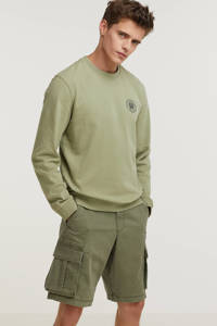 GAP regular fit short groen, Groen