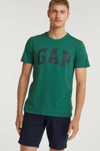 GAP T-shirt met logo groen, Groen
