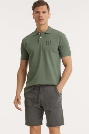 regular fit polo groen