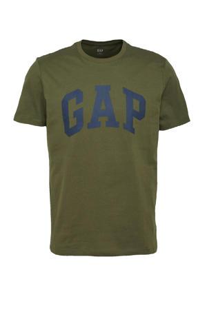 T-shirt met logo army