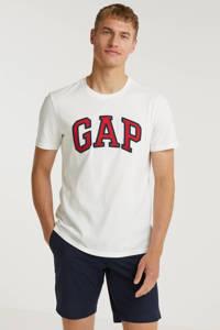 GAP T-shirt Bas met logo wit, Wit