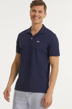 polo (set van 2) donkerblauw/wit