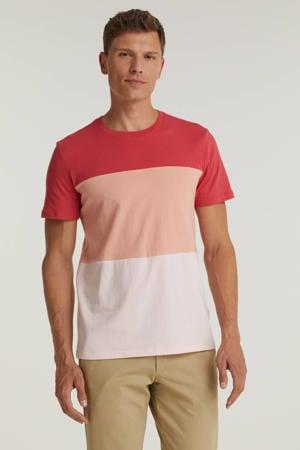 T-shirt rood/roze