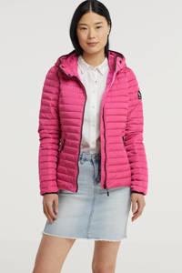 Superdry jack zomer Core Down roze, Roze