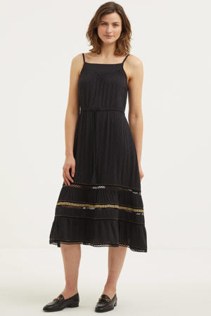 jurk AMEERA CAMI DRESS black