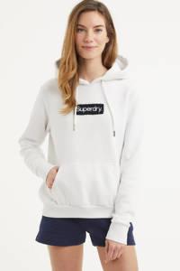 Superdry trui met logo wit, Wit