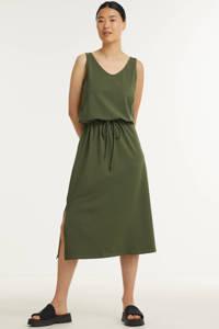 B.Young maxi jurk BYPANDINA met biologisch katoen groen, Groen