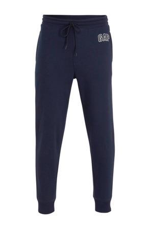regular fit joggingbroek met logo donkerblauw