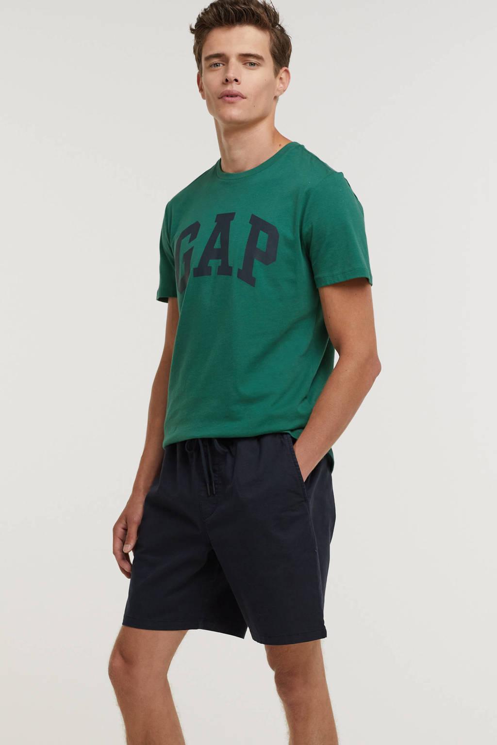 GAP regular fit short donkerblauw, Donkerblauw