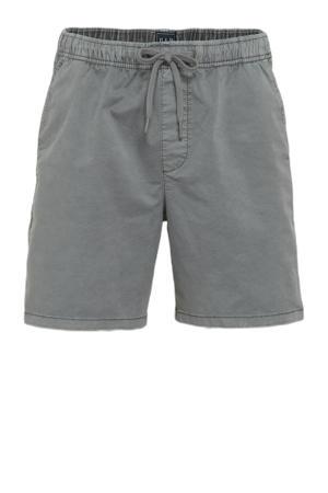 regular fit short grijs