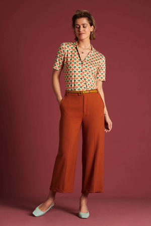 blouse Carmel met all over print multicolor