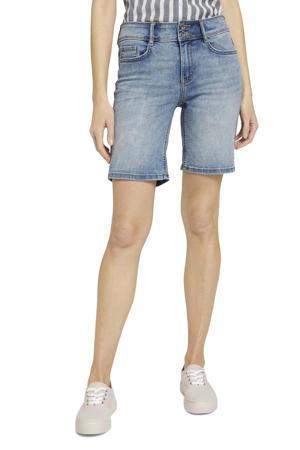 jeans short random bleached blue