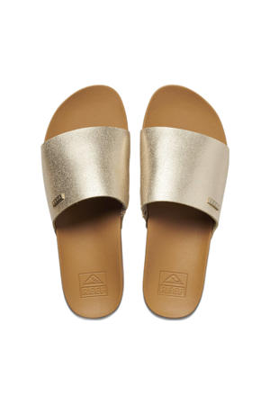 Cushion Scout  slippers goud