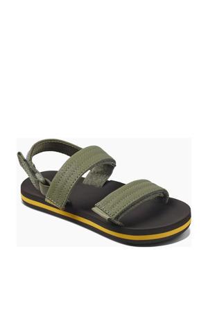 Little Ahi Convertible  sandalen olijfgroen