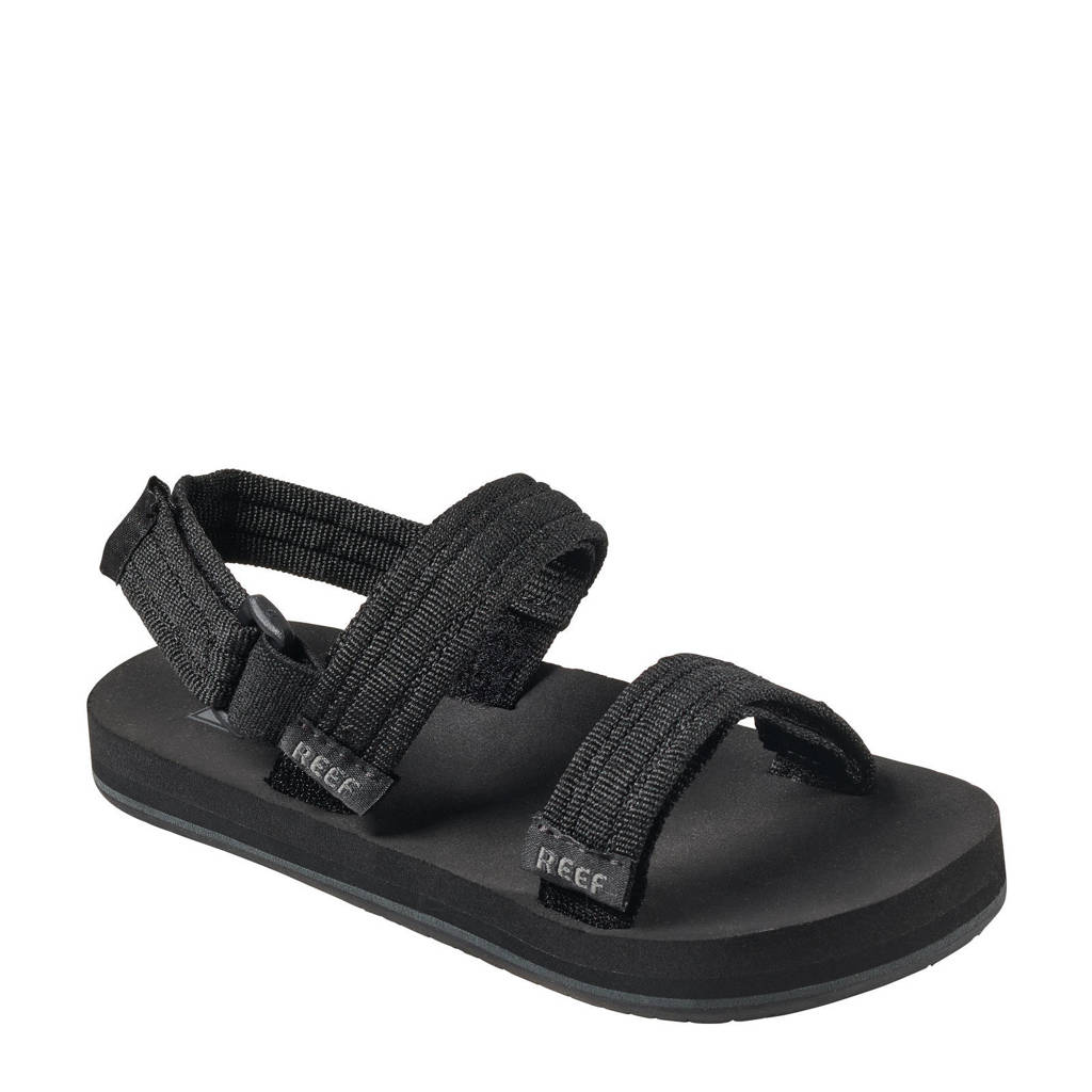 Reef Little Ahi Convertible  sandalen zwart, Zwart