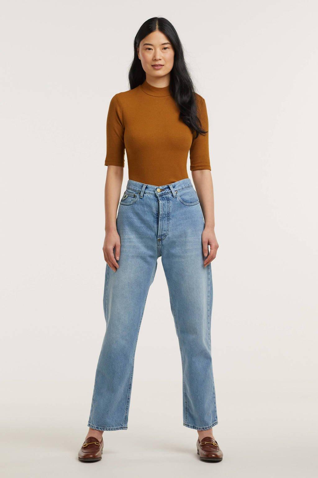 Lois high waist mom jeans 2666 Dana 6360 Kape Daddy bio double stone, Bio Double Stone