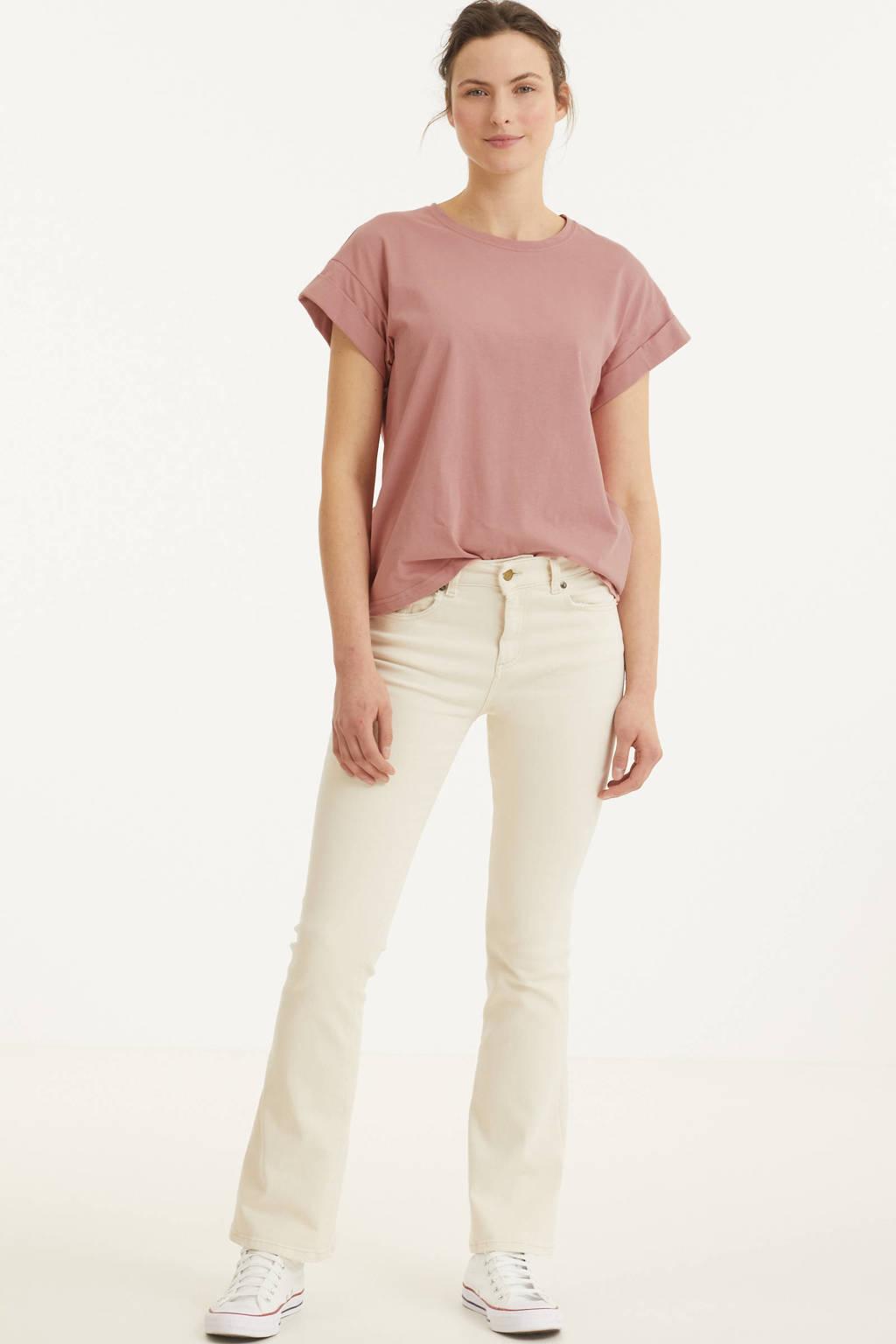 Lois high waist flared jeans 2007 Raval-16 6384 Nicci Ecru ecru