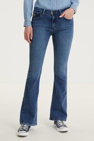high waist flared jeans 2007 Raval-16 5374 Re Ram Cobalt cobalt stone