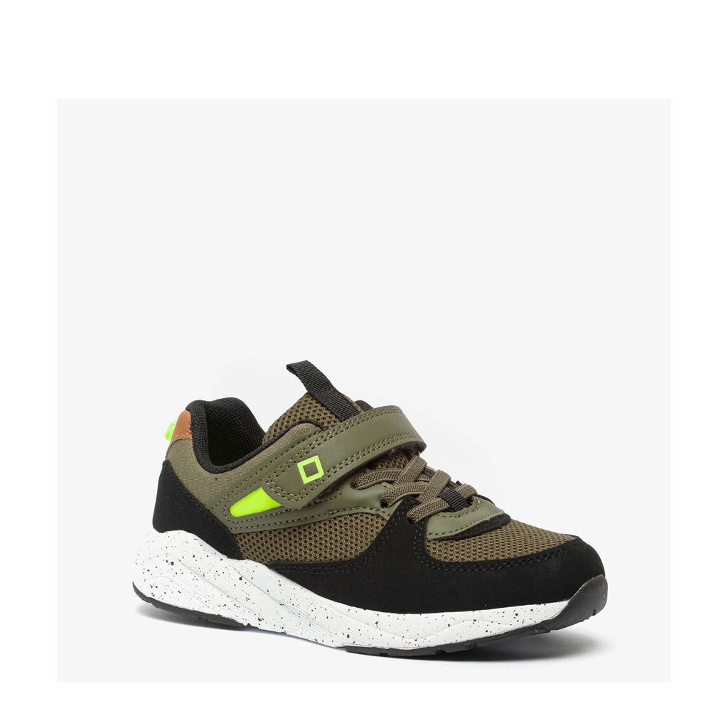 Scapino Blue Box   sneakers groen, Groen/zwart