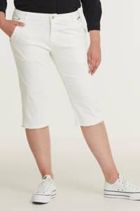 Exxcellent skinny capri jeans Noor wit, Wit