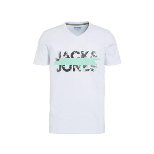 JACK & JONES ORIGINALS T-shirt Tapo met logo wit
