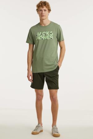 T-shirt Swims met logo groen