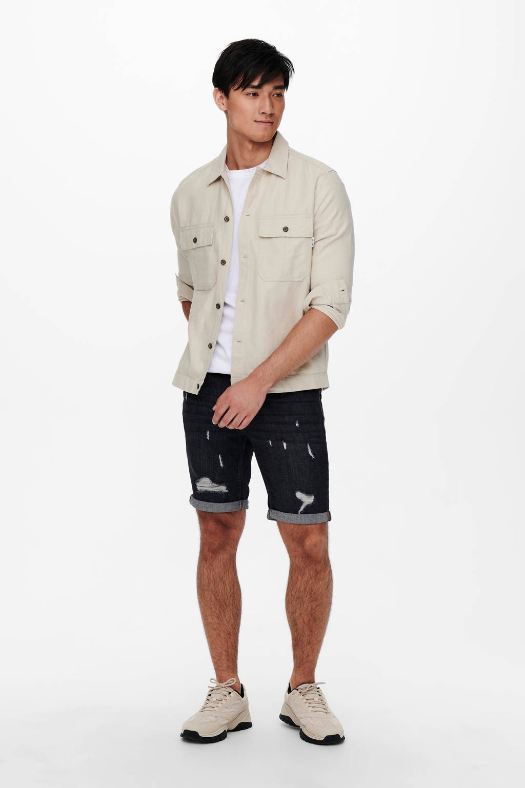 ONLY & SONS overshirt, Beige