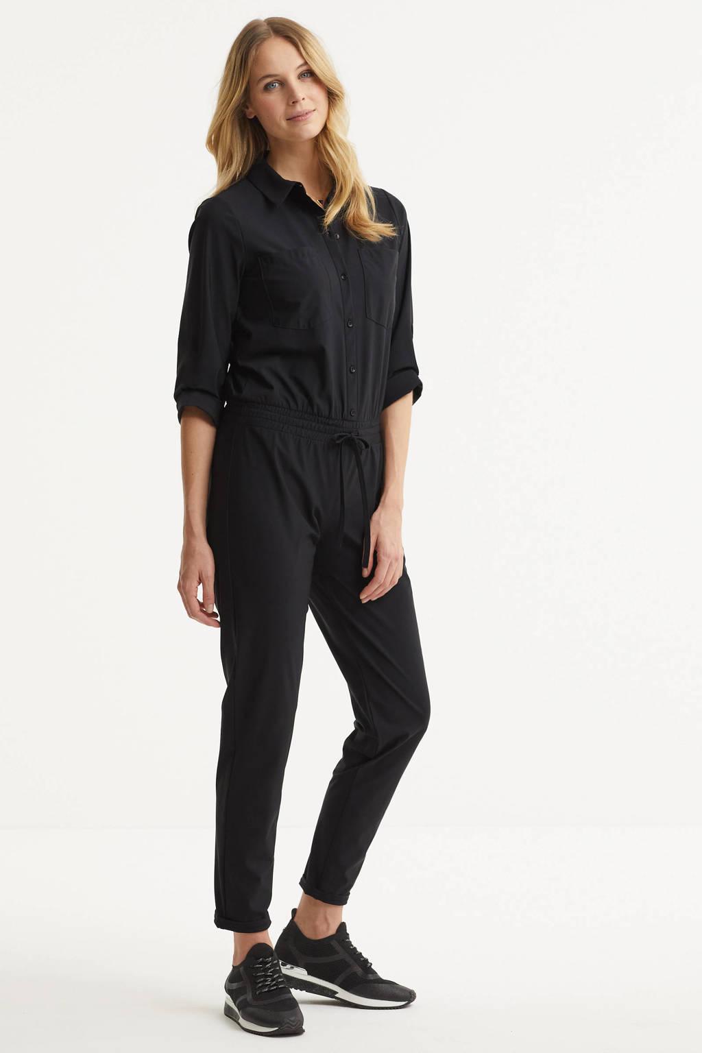 Imagine jumpsuit van travel kwaliteit zwart, Zwart